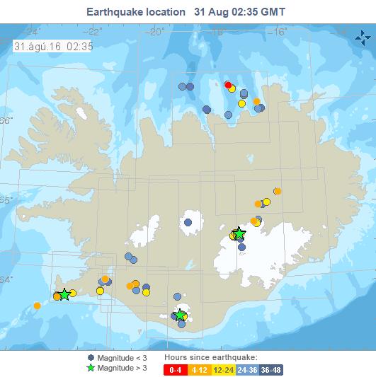 Iceland Seismicity