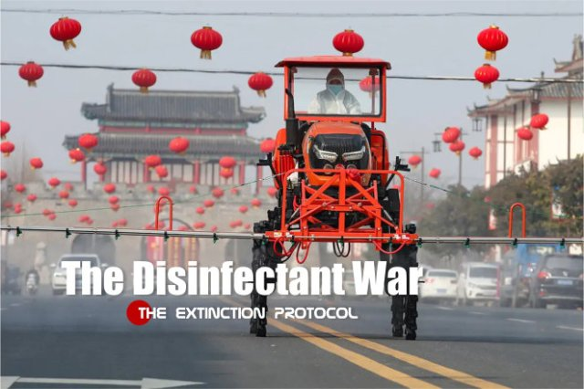 COVID-19: China's large-scale Disinfectant Wars would ...