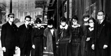 00 Face Masks Spanish Flu