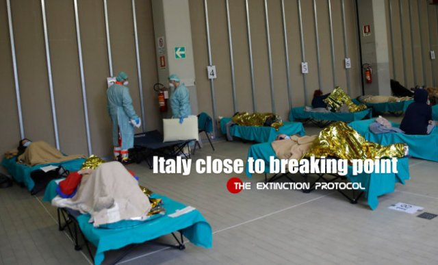 COVID19 UPDATES - Italy's healthcare system on the brink of collapse plus MORE Italy-breaking-point