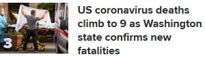 US Death toll