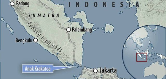 Indonesia's Anak Krakatau volcano shaken by violent eruption 000-a-krakatau-map