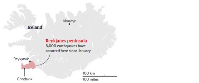 000 Iceland Reykjavik Map