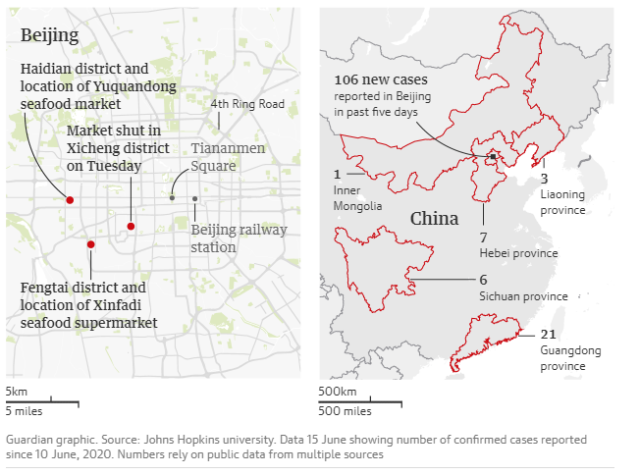 """Beijing grapples with another COVID-19 outbreak described as """"extremely severe"""" – more virulent strain than Wuhan Beijing"""